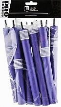Духи, Парфюмерия, косметика Бигуди гибкие, 180мм, d18, синие - Tico Professional