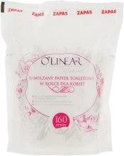 Духи, Парфюмерия, косметика Влажная туалетная бумага для женщин, 160шт - O`linear (сменный блок)