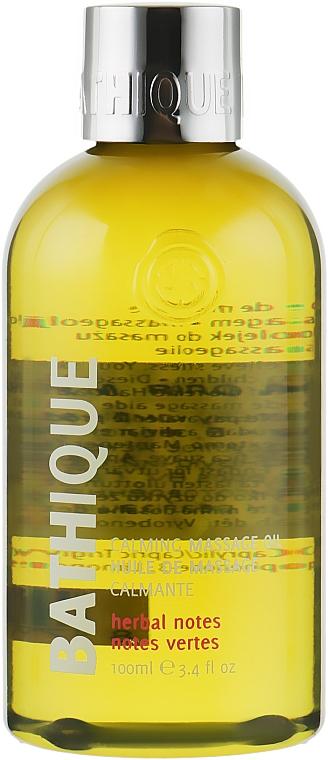 """Массажное масло с успокаивающим действием """"Мурумуру"""" - Mades Cosmetics Bathique Fashion Massage Oil"""