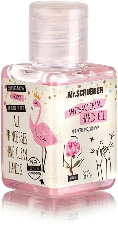 Антисептик для рук - Mr.Scrubber Antibacterial Hand Gel Peony