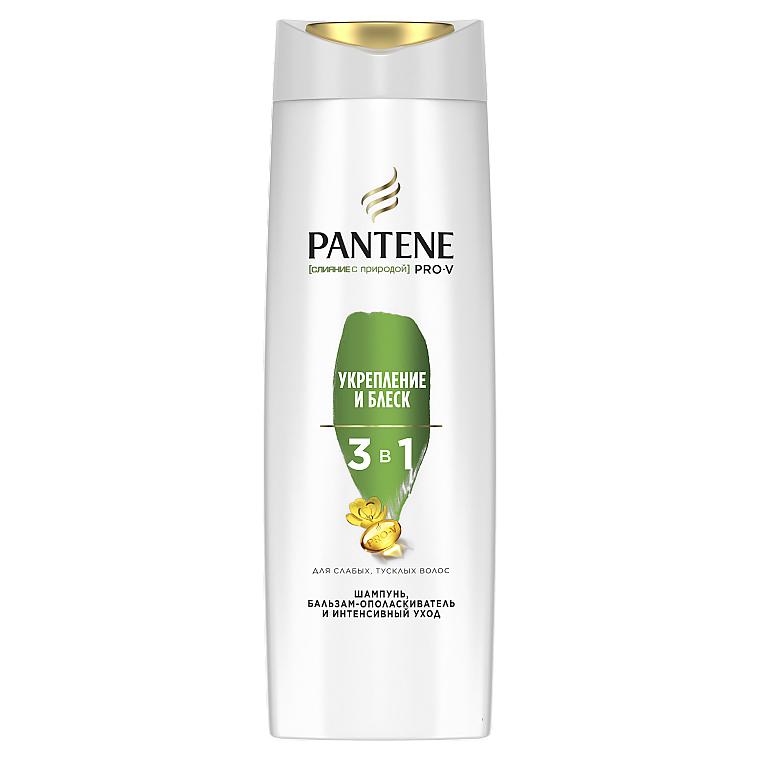 """Шампунь 3в1 """"Укрепление и блеск"""" - Pantene Pro-V Nature Fusion Strength and Moisture Shampoo"""