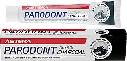 Духи, Парфюмерия, косметика Зубная паста с активированным углем - Astera Parodont Active Charcoal