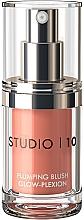 Духи, Парфюмерия, косметика Ультра-легкие сияющие румяна - Studio 10 Plumping Blush Glow-Plexion
