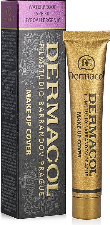 Тональный крем с повышенными маскирующими свойствами - Dermacol Make-Up Cover