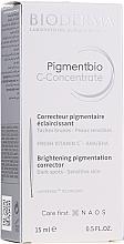 Духи, Парфюмерия, косметика Сыворотка для лица - Bioderma Pigmentbio C Concentrate Brightening Pigmentation Corrector
