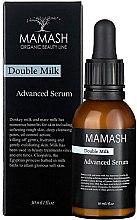 Духи, Парфюмерия, косметика Питательный эликсир для лица - Mamash Organic Double Milk