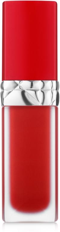 Жидкая помада для губ с цветочным маслом - Dior Rouge Dior Ultra Care Liquid