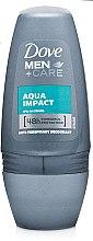 Духи, Парфюмерия, косметика Дезодорант шариковый - Dove Men+Care Aqua Impact