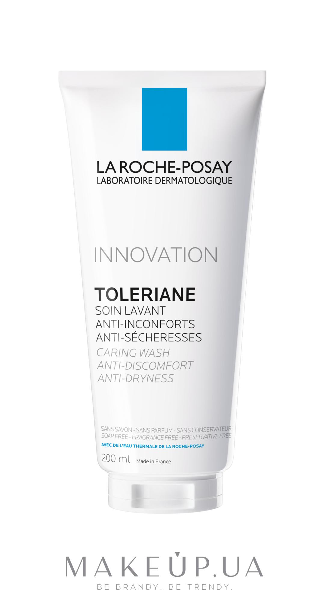 Очищающий крем-гель для чувствительной кожи - La Roche-Posay Toleriane Anti-Inconforts — фото 200ml