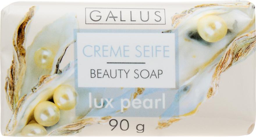 "Косметическое мыло ""Жемчуг"" - Gallus Beauty Soap"