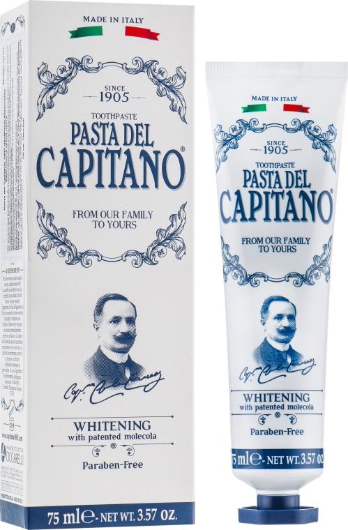 """Зубная паста """"Отбеливающая"""" - Pasta Del Capitano Whitening Toothpaste"""