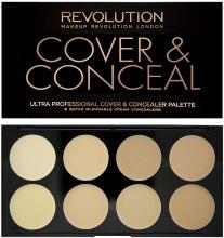 Парфумерія, косметика Консилер для обличчя - Makeup Revolution Ultra Cover and Conceal Palette