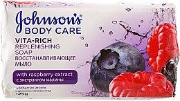 Духи, Парфюмерия, косметика Восстанавливающее мыло с экстрактом лесных ягод - Johnson's® Body Care Vita-Rich Soap