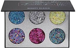 Духи, Парфюмерия, косметика Палетка глиттеров - Beauty Glazed Pressed Glitter Bar