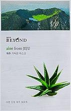 Маска для лица с экстрактом алоэ - Beyond Aloe From Jeju Mask — фото N1