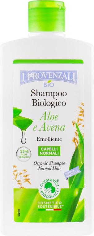 Шампунь для нормальных волос - I Provenzali Aloe Organic Shampoo