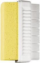 Духи, Парфюмерия, косметика Щетка-пемза комбинированная на блистере, желтая - Titania