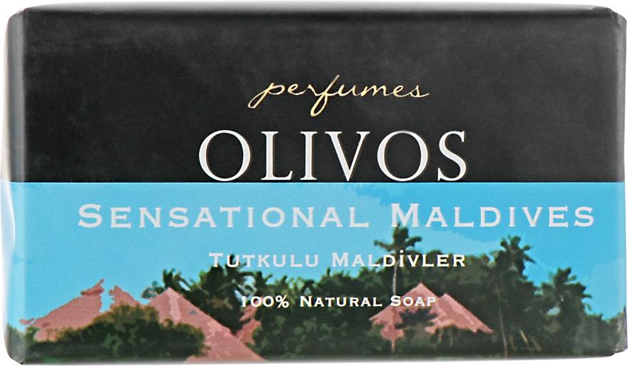 """Натуральное оливковое мыло """"Сенсационные Мальдивы"""" - Olivos Perfumes Sensational Maldives"""