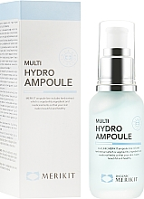 Духи, Парфюмерия, косметика Увлажняющая сыворотка - Merikit Multi Hydro Ampoule