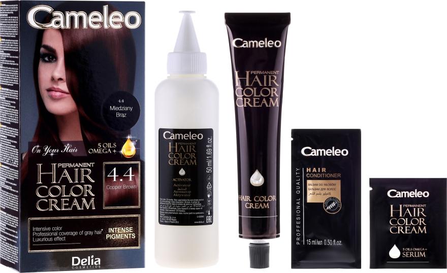 Краска для волос с маслом арганы - Delia Cameleo