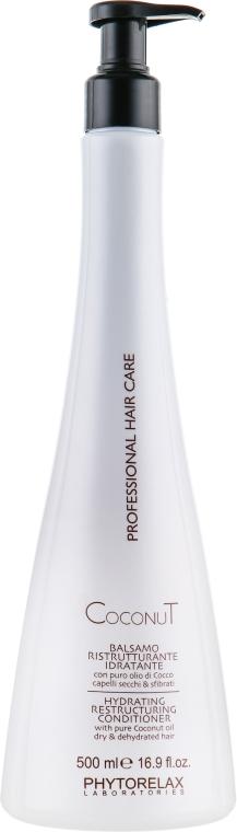 Кондиционер для волос - Phytorelax Laboratories Coconut Professional Hair Care Hydrating Restructuring Conditioner