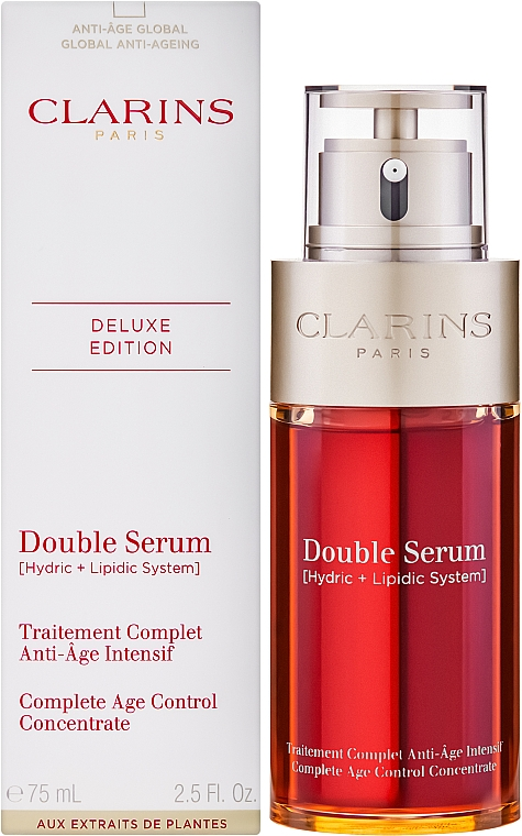 Двойная сыворотка - Clarins Double Serum Complete Age Control Concentrate — фото N6