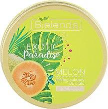 "Духи, Парфюмерия, косметика Сахарный скраб для тела увлажняющий ""Дыня"" - Bielenda Exotic Paradise Moisturising Body Scrub Melon"