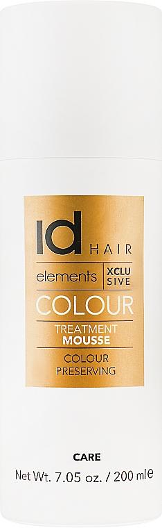 Мусс для окрашенных волос - idHair Elements Xclusive Colour Treatment Mouse