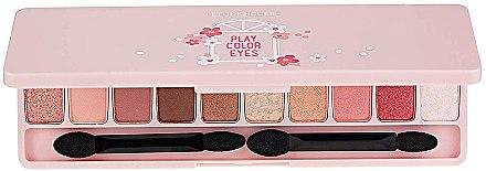 Палетка теней для век - Etude House Play Color Eyes Cherry Blossom — фото N1
