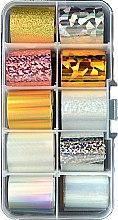 Духи, Парфюмерия, косметика Фольга переводная трансферная, набор С, 2.5х55 см - Canni