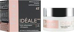 Духи, Парфюмерия, косметика Дневной крем для лица - Lirene Ideale Pro 45+