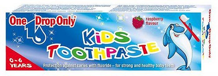 """Натуральная детская зубная паста """"Малина"""" - One Drop Only Kids Toothpaste"""