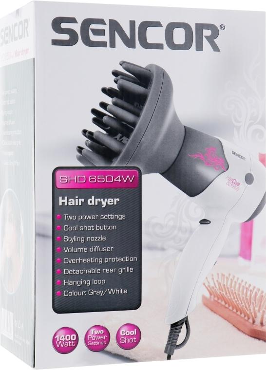 Фен для волос - Sencor SHD6504W