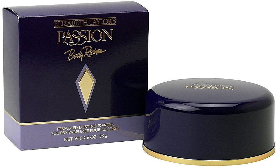 Elizabeth Taylor Passion - Парфюмированная пудра для тела