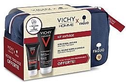 Духи, Парфюмерия, косметика Набор - Vichy Homme (sh/gel/200ml + fluid/50ml + bag)