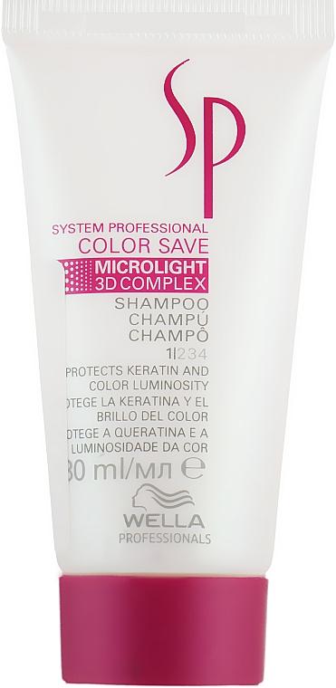Шампунь для окрашенных волос - Wella SP Color Save Shampoo