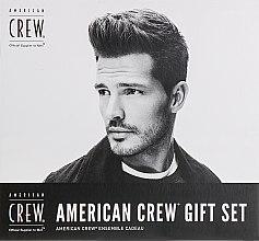 Духи, Парфюмерия, косметика Набор - American Crew Gift Set (shm/250 ml + Fiber/85 g)