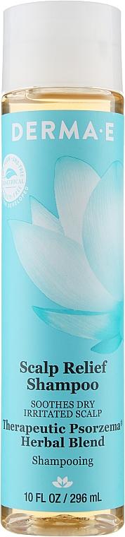 Шампунь успокаивающий для чувствительной кожи головы - Derma E Scalp Relief Shampoo