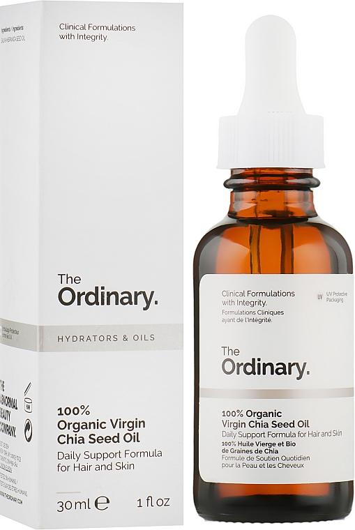 Органическое масло из семян Чиа - The Ordinary 100% Organic Virgin Chia Seed Oil