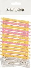 Духи, Парфюмерия, косметика Бигуди для холодной завивки, жёлто-розовые, d8 - Comair