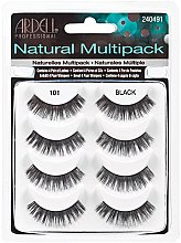Духи, Парфюмерия, косметика Накладные ресницы - Ardell Natural Multipack Black 101