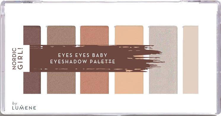 Палетка теней для век, 6 цветов - Lumene Nordic Girl! Eyes Eyes Baby Eyeshadow Palette