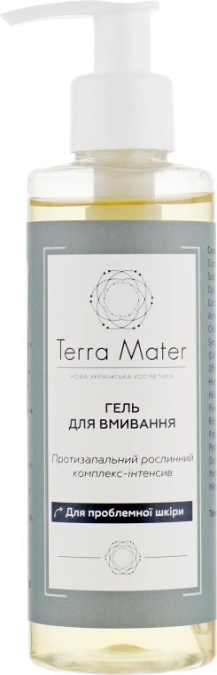 Гель для умывания проблемной кожи лица - Terra Mater Facial Skin Wash Gel