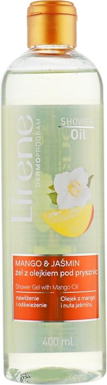 "Гель для душа ""Манго и жасмин"" - Lirene Shower Oil Gel"