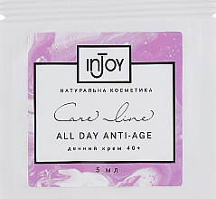 Духи, Парфюмерия, косметика Дневной крем для кожи 40+ - InJoy Care Line All Night Anti-Age (пробник)