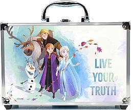 Духи, Парфюмерия, косметика Набор косметики в алюминиевом боксе - Markwins Disney Frozen