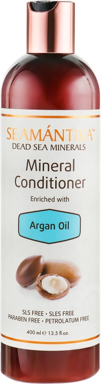 Минеральный кондиционер для волос с маслом аргана - Seamantika Mineral Conditioner Argan Oil — фото N1