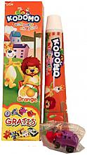 """Духи, Парфюмерия, косметика Детская зубная паста """"Апельсин"""" с игрушкой - Kodomo Lion Special Toothpaste For Children Strawberry"""