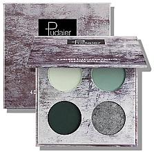 Духи, Парфюмерия, косметика Палитра теней для век - Pudaier 4-Pan Insanely Pigmented Eyeshadow Palette