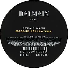 Духи, Парфюмерия, косметика Восстанавливающая маска для поврежденных волос - Balmain Paris Hair Couture Repair Mask
